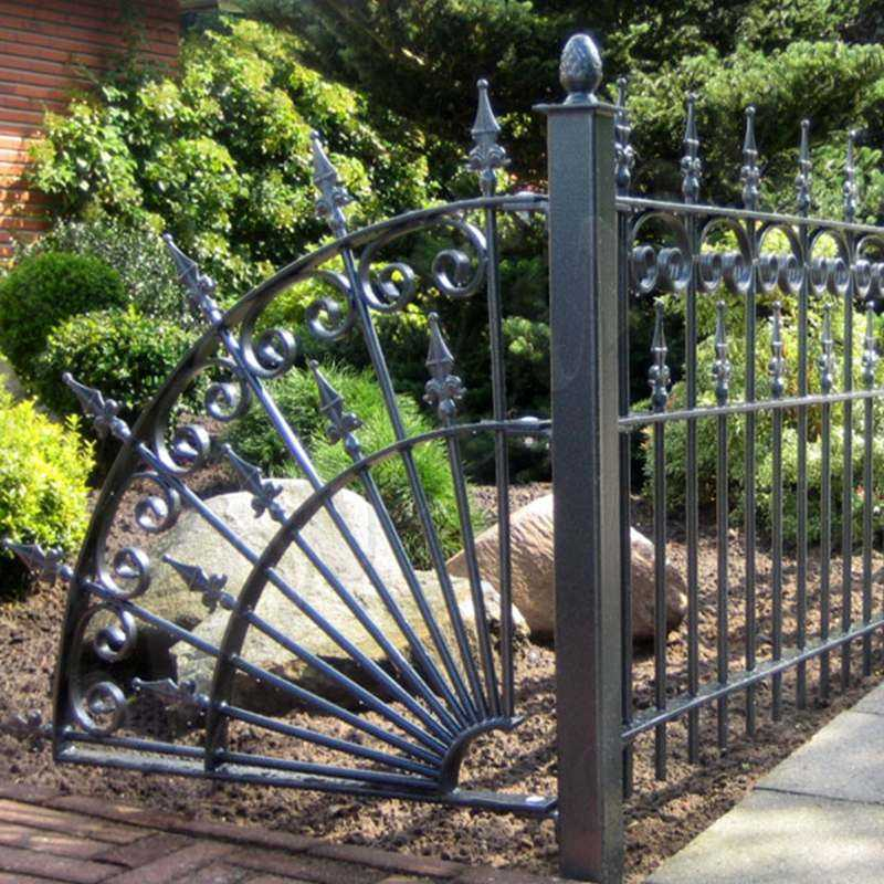 wrought iron fence panels designs