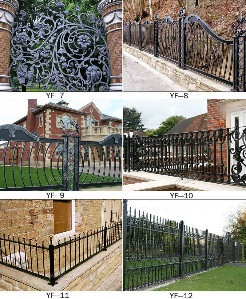 Casting iron railing for sale