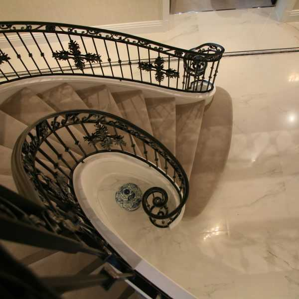 Cheap interior metal stair railing wrought iron balusters reliable suppliers from China--IOK-168