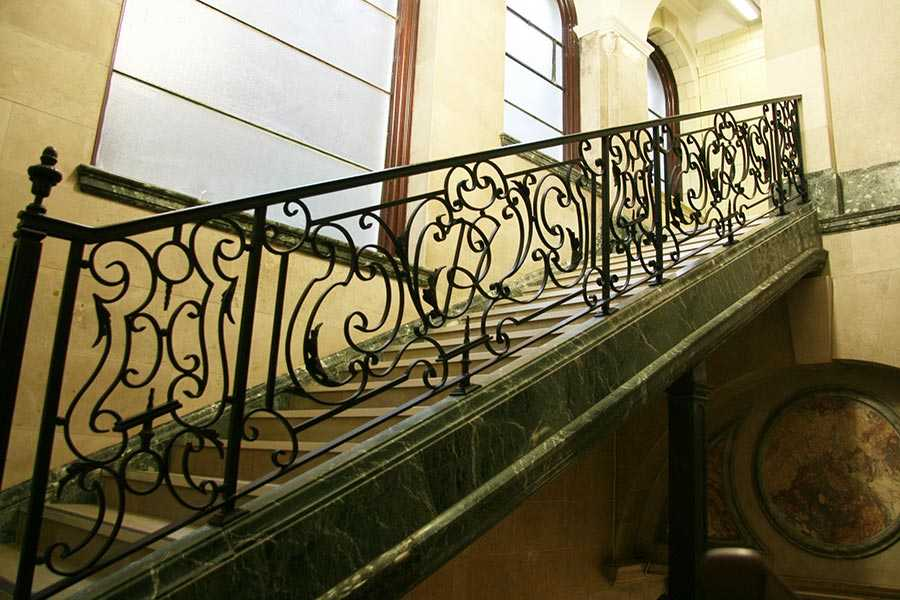 Directly supply high quality elegant wrought iron staircases designs supplier from china–IOK-163