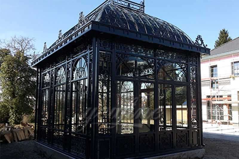 How to Install Germany Large Metal Wrought Iron Gazebo