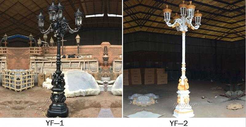 cast iron lamp post suppliers