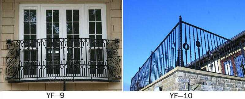 life size modern railing designs for terrace for sale