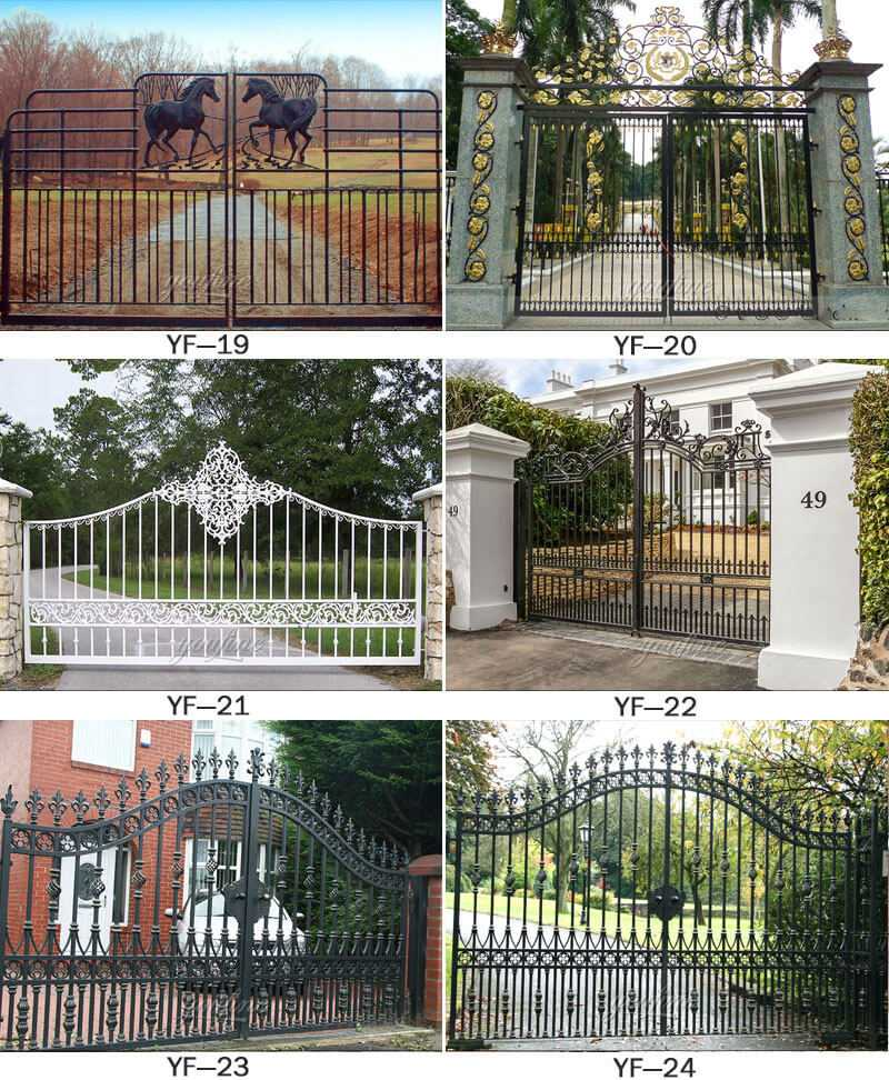 modern gate design for house