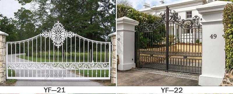 modern gate design for house cost