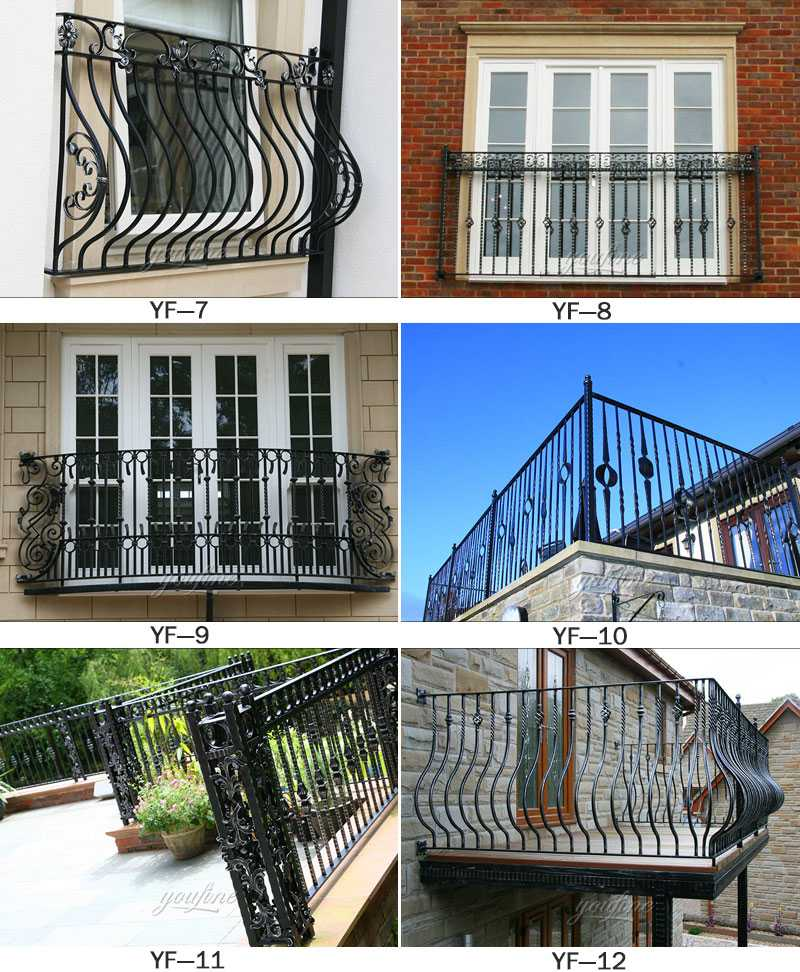 modern railing designs for terrace