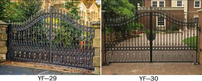 modern steel gate and fence designs for sale