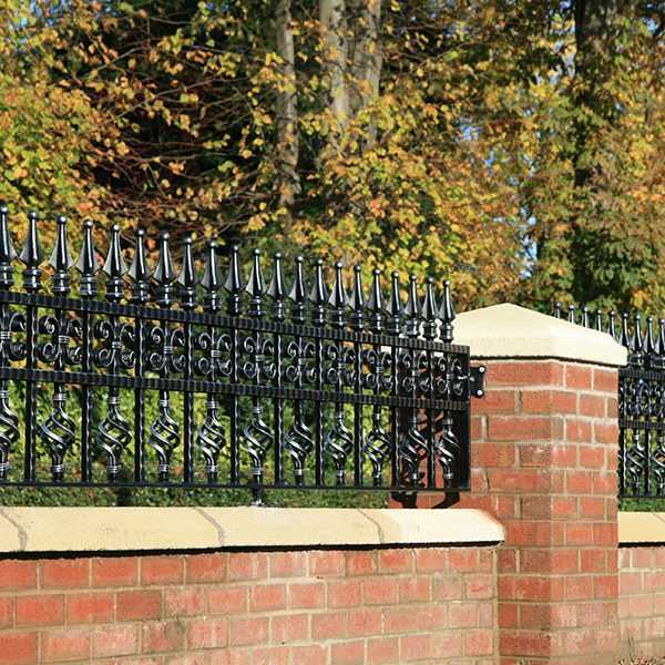 wholesale wrought iron fence panels