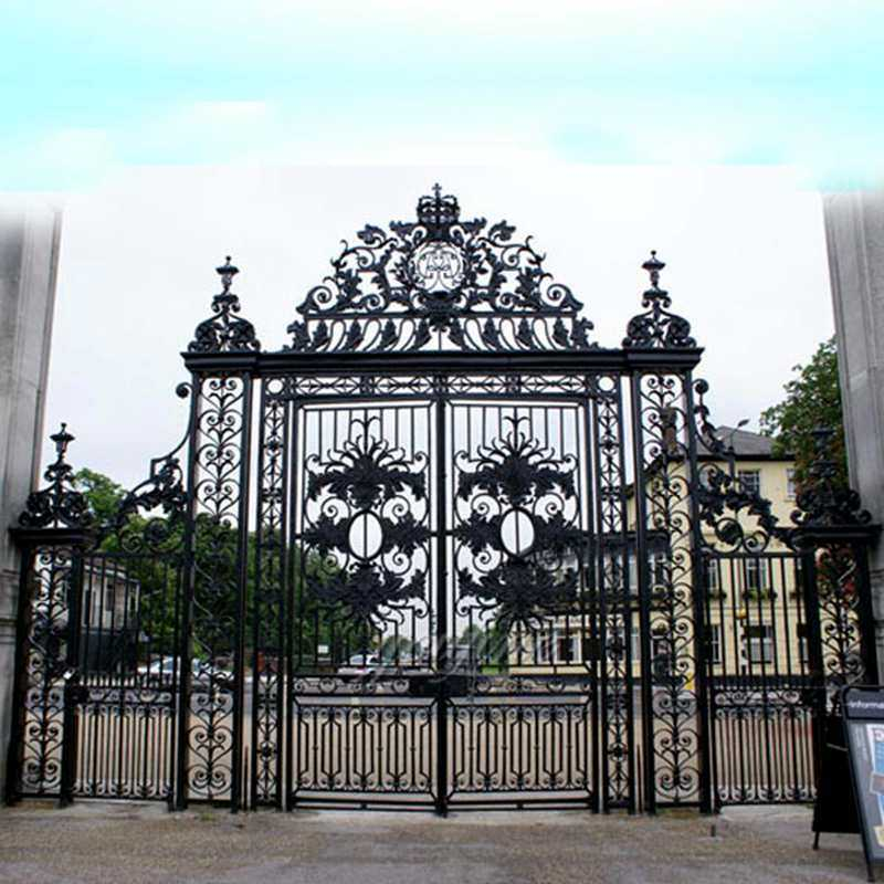 wrought iron driveway estate gates
