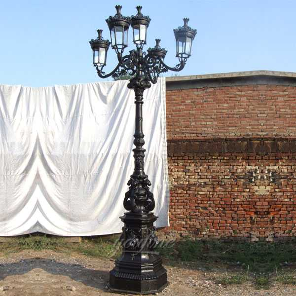 wrought iron garden lamp post for sale