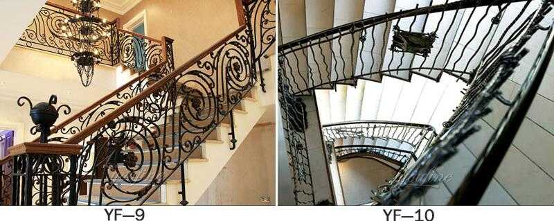 wrought iron railing designs for home decor for sale