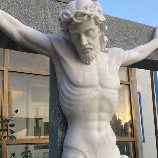 Life Size Christian Catholic Church Famous Sculpture Crosses and Crucifixes with Jesus Statue for Sale