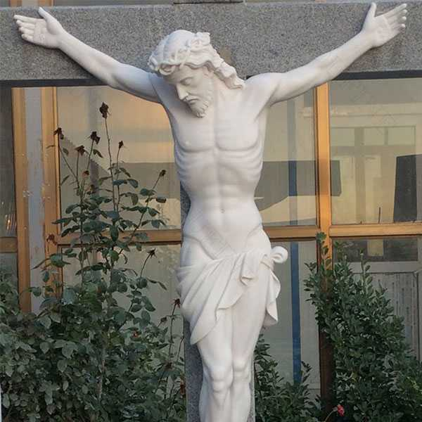 Life Size Christian Catholic Church Famous Sculpture Crosses and Crucifixes with Jesus Statue