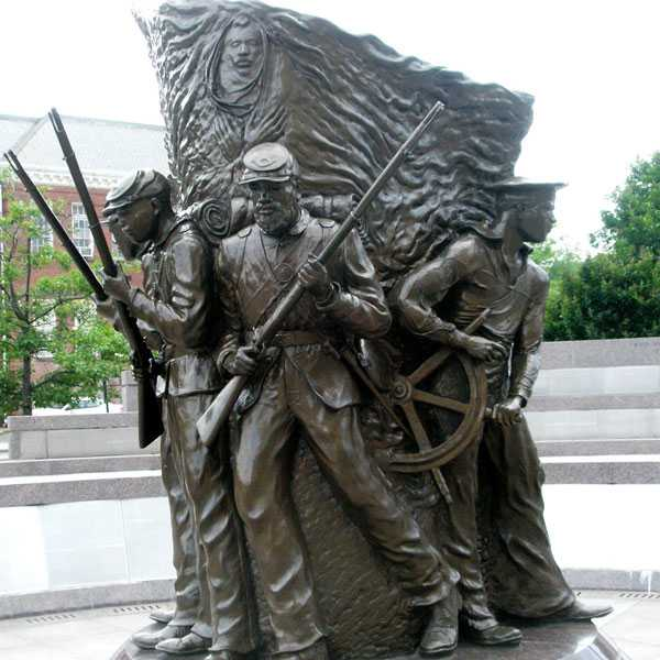 Do you really know the casting bronze statue of the famous American Civil War ?