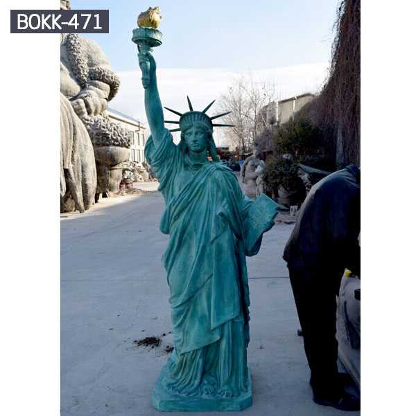 Buy world famous statue replica antique bronze statue of liberty replica for sale from China–BOKK-471