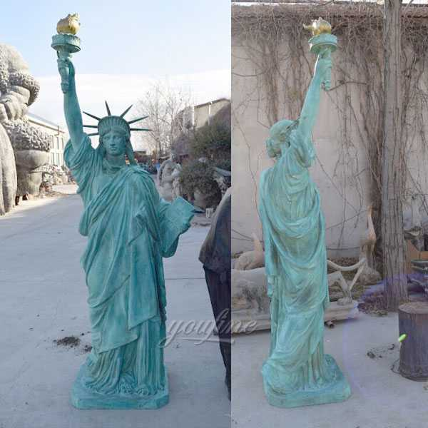 Buy world famous statues replica antique bronze statues of liberty replica for sale from China