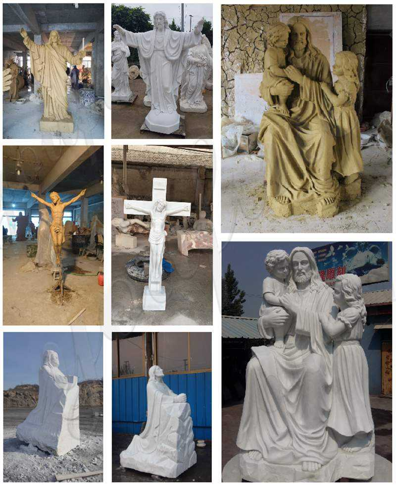 CHS-288 Crosses and Crucifixes with Jesus Statue
