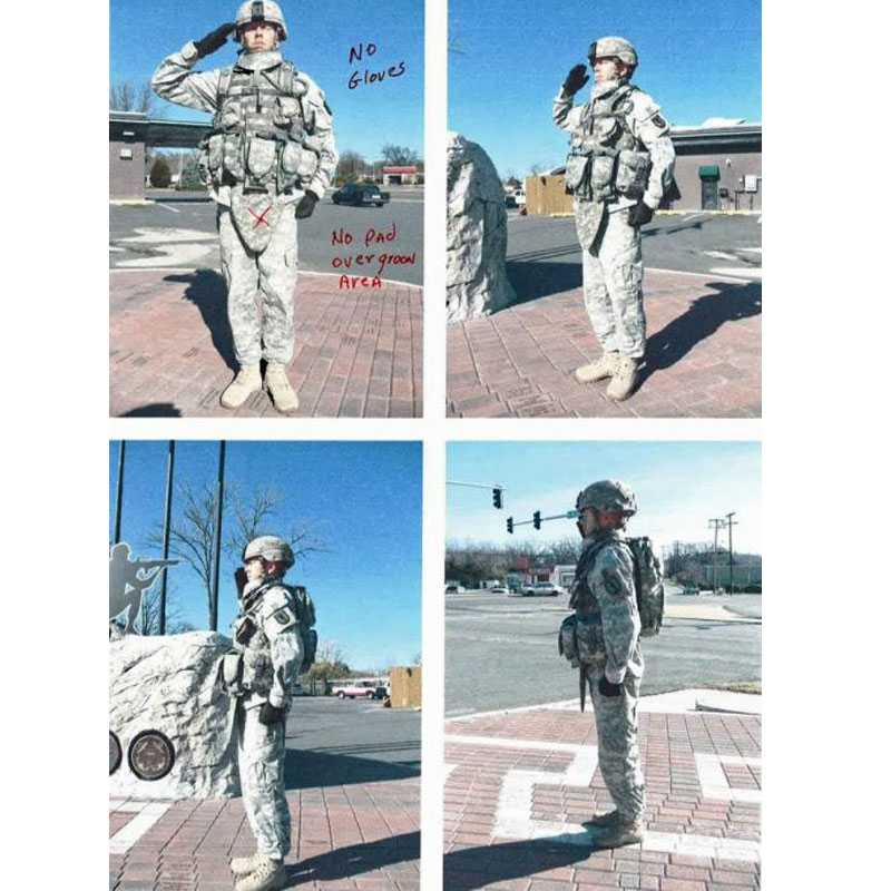 Customized Military Statue Bronze Sculpture Vivid US Army Soldier Design for Monuments for Sale