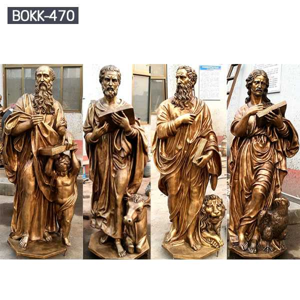 Life size famous four bronze catholic statues for religious church for sale from china foundry–BOKK-470
