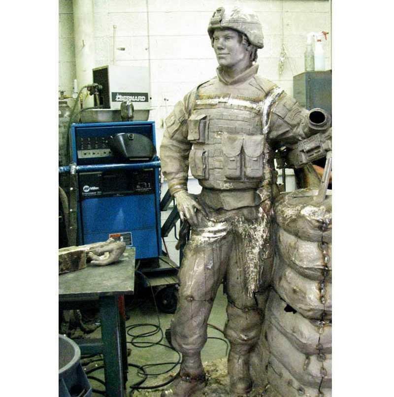 Lost Wax Casting bronze statue Process