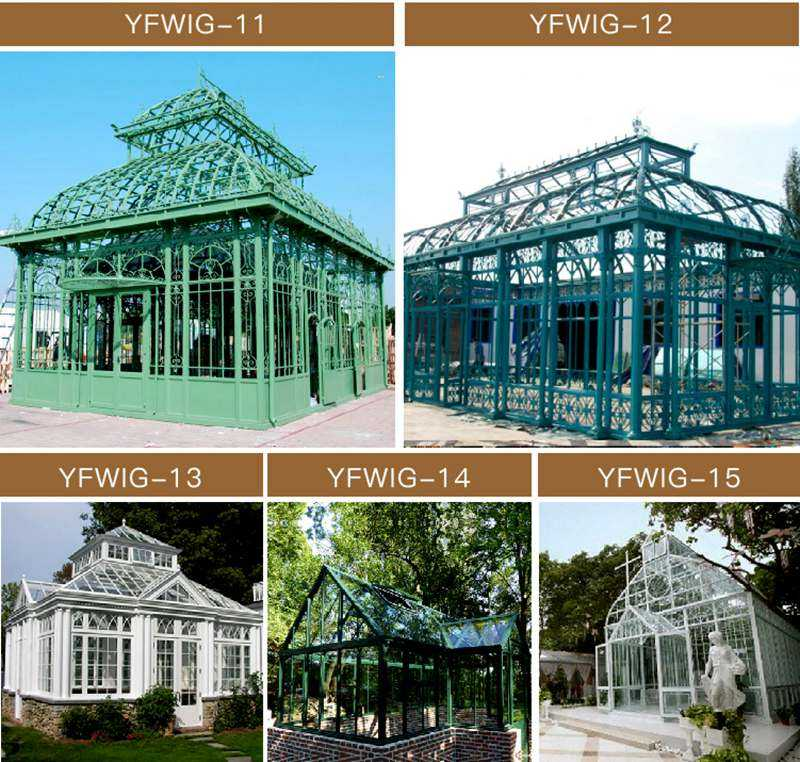 Outdoor Backyard Wrought Iron Gazebo for Wedding Ceremony for Sale
