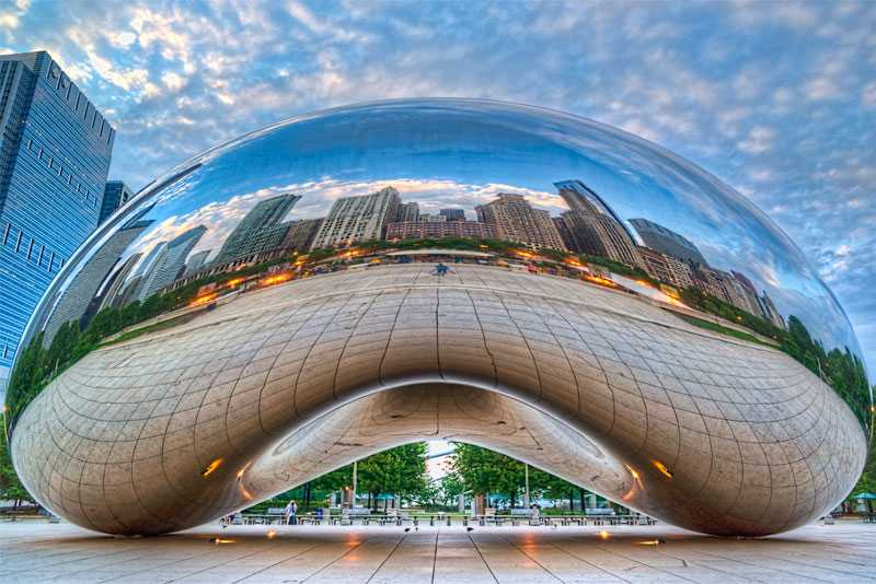"Why The World Famous Large Stainless Steel Bean Sculpture ""Cloud Gate"" Welded So Perfect ?"