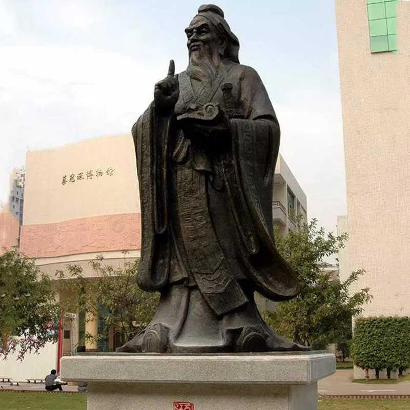 bronze Confucius statue for sales