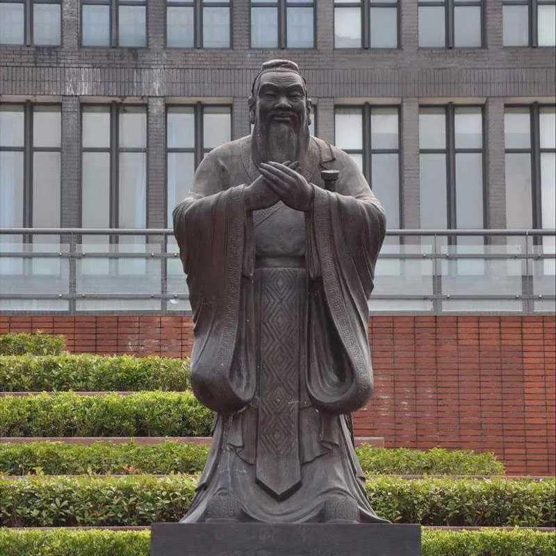 buy bronze Confucius statue for sale