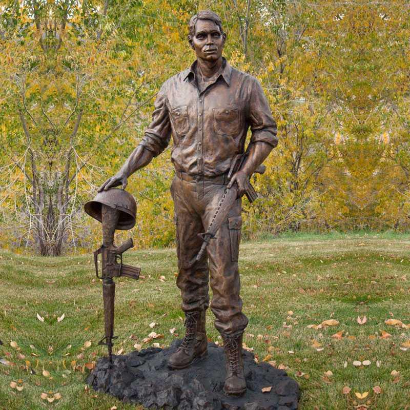 casting bronze Vietnam war statues for sale