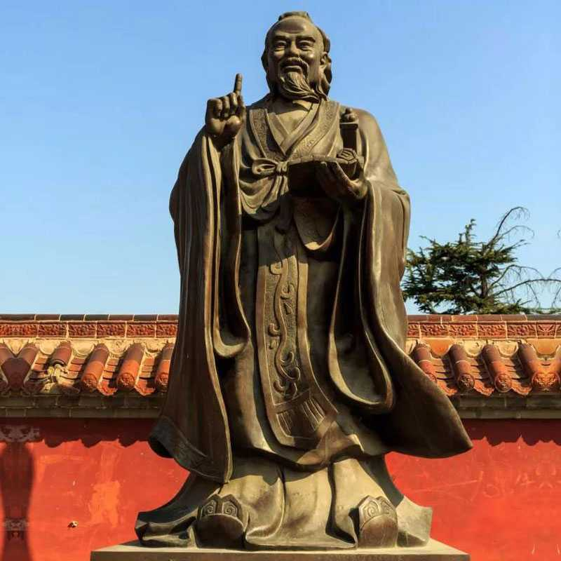 famous bronze Confucius statue for sale