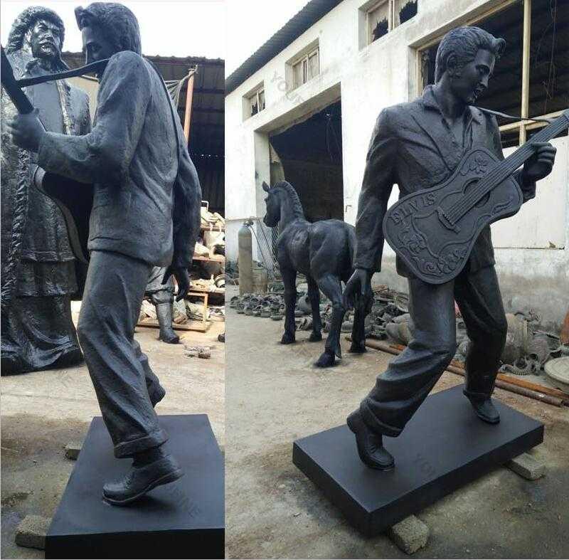 famous singer elvis statue replica for sale