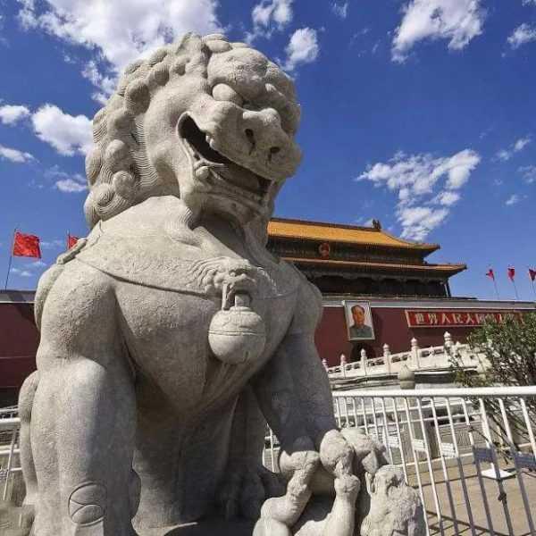 large foo lion statue for sale