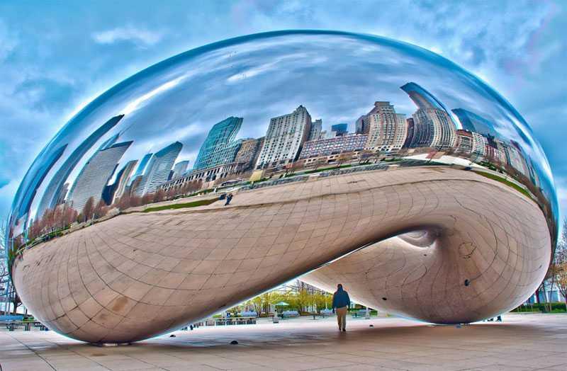 large sculpture cloud gate for sale