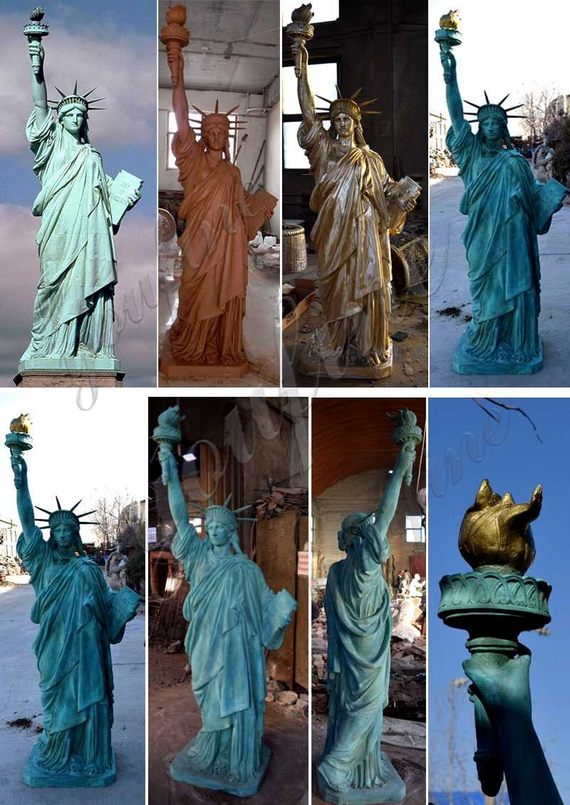 life size Antique Bronze Statue of Liberty