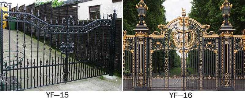 modern double driveway gates for sale