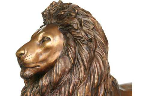 outdoor garden lion statue in the front porch
