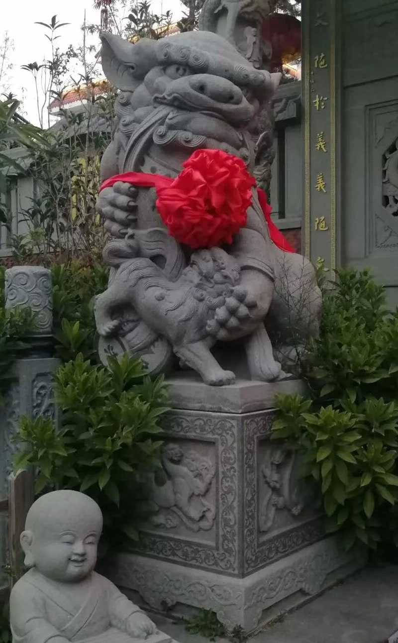 stone foo dog statues for sale