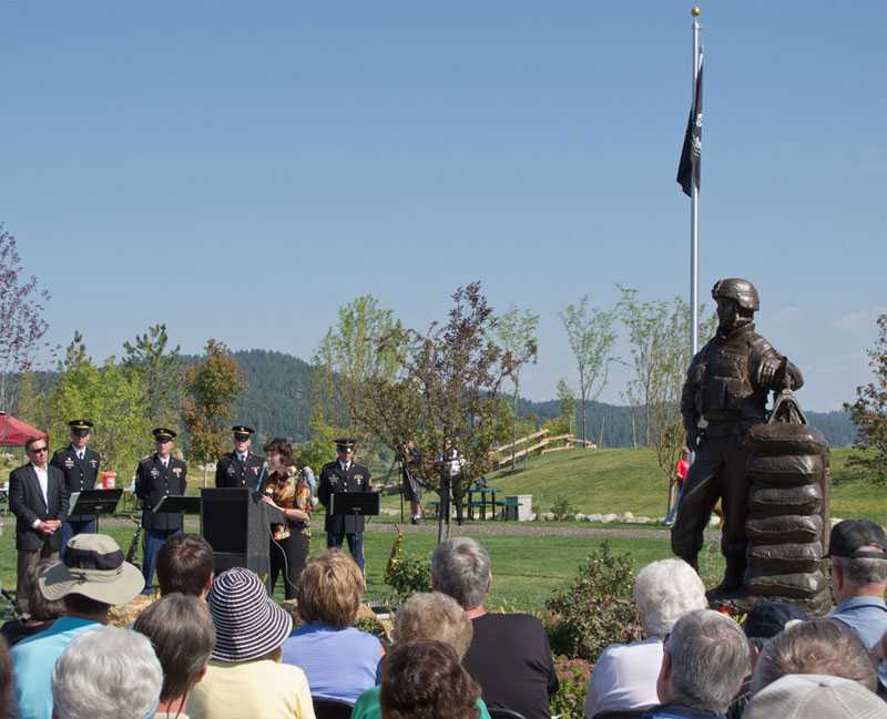 the installation of soldier statue for sale