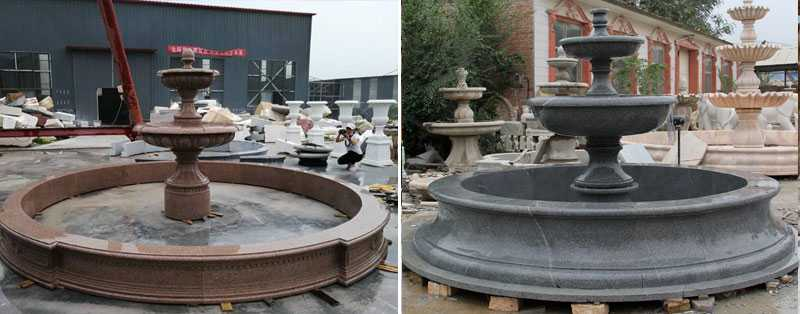 two tiered water fountain for sale