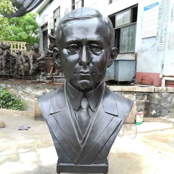 Bronze Guglielmo Marconi Bust Statue Replica Famous Custom Bust Sculpture for Sale–BOKK-515