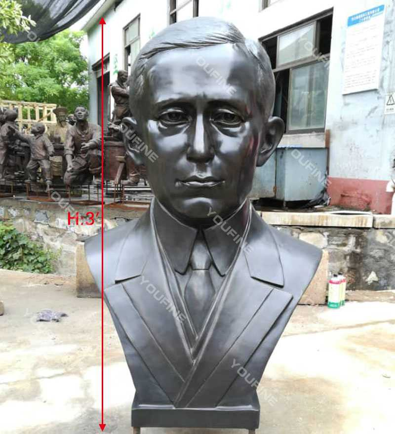 Guglielmo Marconi bust statue replica famous custom bust sculpture for sale