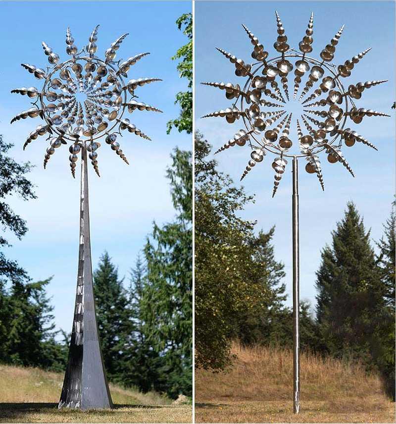 Kinetic garden wind sculptures anthony howe