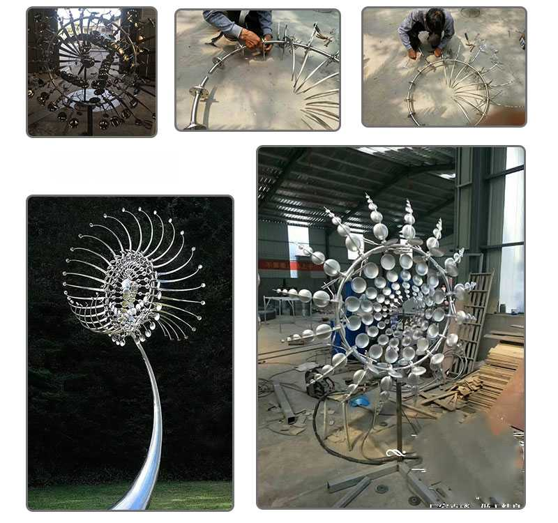 Large famous kinetic sculpture replica anthony howe designs for sale