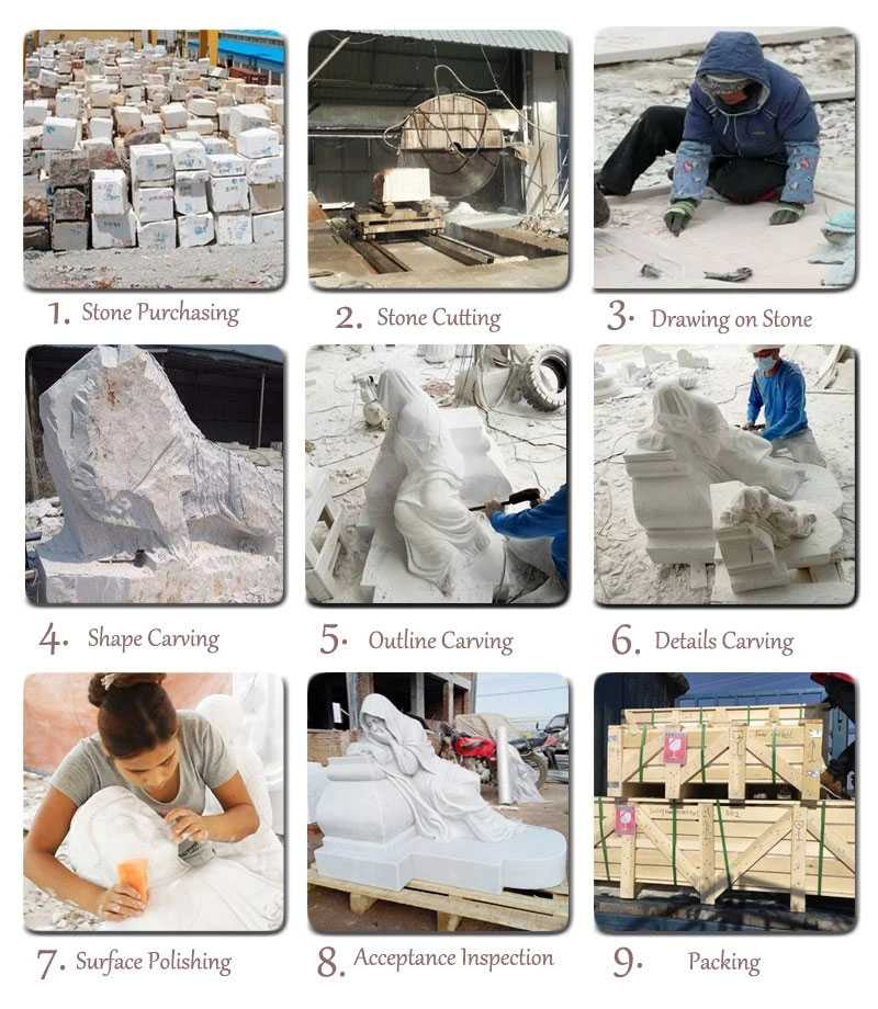 MOKK-119 process of Foo Dog Statues(for sale)