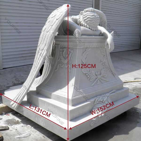 Weeping Angel Monument Headstone Custom Made Angel Statues