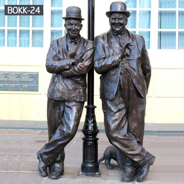 antique bronze street statue for sale--BOKK-24