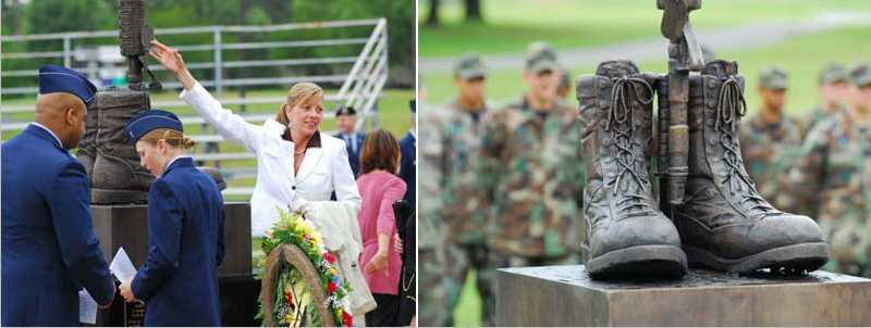 bronze battlefield cross memorial for sale