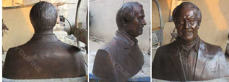 bronze bust statue of yourself as a gift