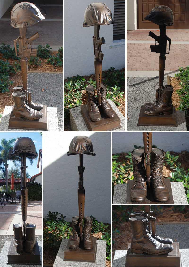 fallen soldier memorial statue battlefield cross memorial for battlefield cross ceremony for garden