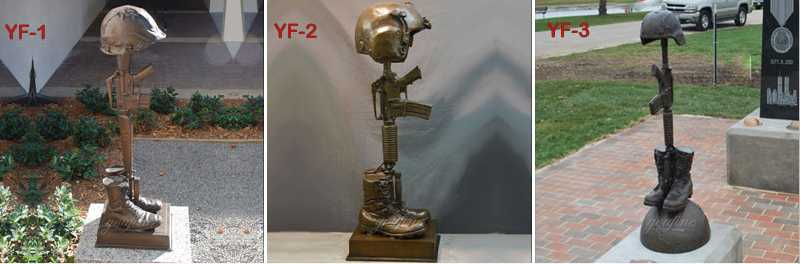 famous bronze fallen soldier memorial statue for sale